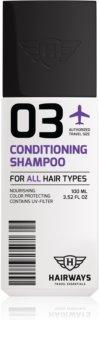 Hairways Travel Essentials čisticí šampon pro všechny typy vlasů
