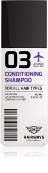 Hairways Travel Essentials shampoing purifiant pour tous types de cheveux