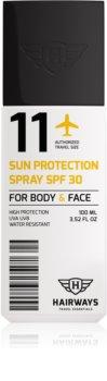 Hairways Travel Essentials spray solaire SPF 30