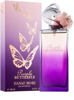 Hanae Mori Butterfly Purple Eau de Parfum for Women 100 ml