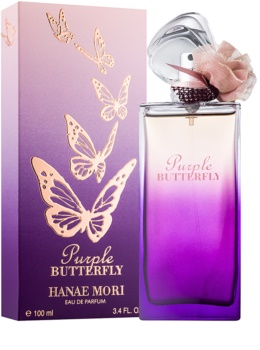 Hanae Mori Butterfly Purple eau de parfum per donna 100 ml