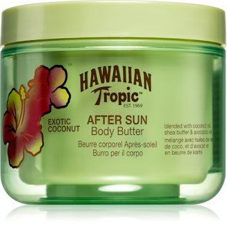 Hawaiian Tropic After Sun manteiga corporal com hidratação e efeito calmante pós-solar