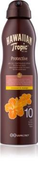 Hawaiian Tropic Protective olio abbronzante secco in spray SPF 10