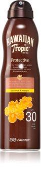 Hawaiian Tropic Protective Trockenöl zum Bräunen im Spray SPF 30