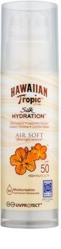 Hawaiian Tropic Silk Hydration Air Soft leite solar SPF50