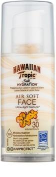 Hawaiian Tropic Silk Hydration Air Soft crema protectoare pentru fata SPF 30