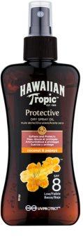 Hawaiian Tropic Protective olje v pršilu za sončenje SPF 8