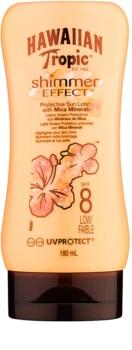 Hawaiian Tropic Shimmer Effect mleczko do opalania SPF 8