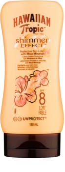 Hawaiian Tropic Shimmer Effect Suntan Milk SPF 8