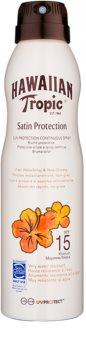 Hawaiian Tropic Satin Protection spray pentru bronzat SPF 15
