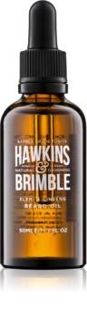 Hawkins & Brimble Natural Grooming Elemi & Ginseng vyživujúci olej na fúzy a bradu