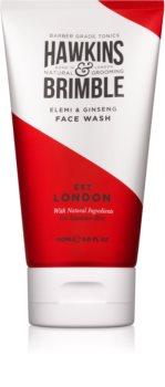Hawkins & Brimble Natural Grooming Elemi & Ginseng gel de limpeza facial
