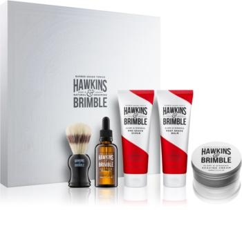 Hawkins & Brimble Natural Grooming Elemi & Ginseng kozmetični set I. za moške