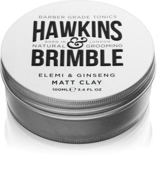 Hawkins & Brimble Natural Grooming Elemi & Ginseng mattító kenőcs a hajra
