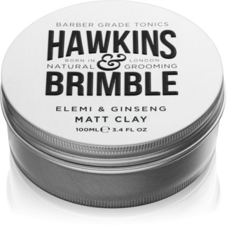 Hawkins & Brimble Natural Grooming Elemi & Ginseng матиращ брилянтин за коса
