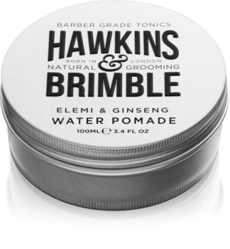 Hawkins & Brimble Natural Grooming Elemi & Ginseng pomata per capelli a base di acqua