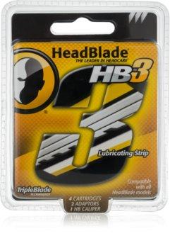 HeadBlade HB3 náhradné žiletky
