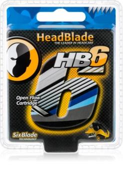 HeadBlade HB6 lames de rechange