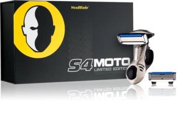 HeadBlade S4 Moto holiaci strojček náhradné čepieľky 4 ks