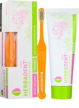 Herbadent Kids Kids Toothpaste with Fluoride + Toothbrush
