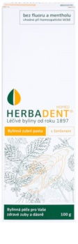 Herbadent Homeo dentifrice au ginseng