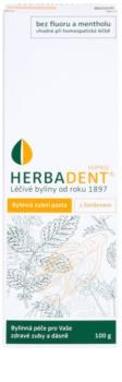 Herbadent Homeo zubná pasta s ženšenom