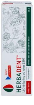 Herbadent Parodontol bylinný gel na dásně