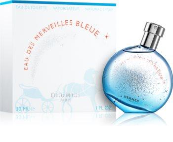 Hermès Eau des Merveilles Bleue eau de toilette para mulheres 30 ml