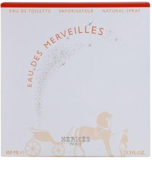 Hermes Eau des Merveilles Eau de Toillete για γυναίκες 100 μλ