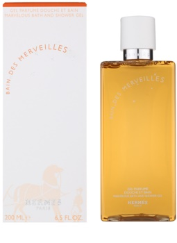 Hermès Eau des Merveilles żel pod prysznic dla kobiet 200 ml