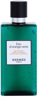 Hermès Eau d'Orange Verte sprchový gél unisex 200 ml na vlasy a telo