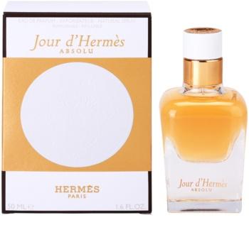 Hermès Jour d'Hermès Absolu parfémovaná voda pro ženy 50 ml plnitelná