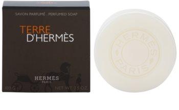 Hermès Terre d'Hermès parfémované mydlo pre mužov 100 g