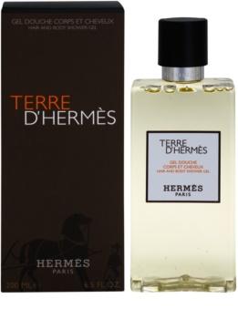Hermès Terre d'Hermès gel doccia per uomo 200 ml
