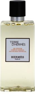 Hermès Terre d' gel douche pour homme 200 ml