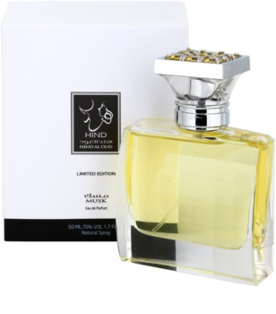 Hind Al Oud Musk Limited Edition eau de parfum unisex 50 ml