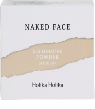 Holika Holika Naked Face pudra pentru luminozitate