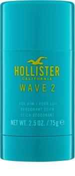 Hollister Wave 2 dezodorant w sztyfcie dla mężczyzn 75 g