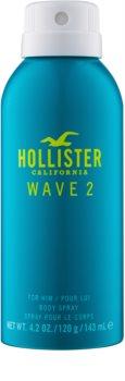 Hollister Wave 2 telový sprej pre mužov 143 ml
