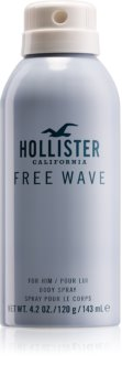 Hollister Free Wave Body Spray for Men 143 ml