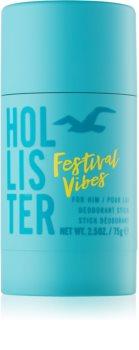 Hollister Festival Vibes Deodorant Stick voor Mannen 75 gr