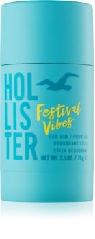 Hollister Festival Vibes deostick pre mužov 75 g