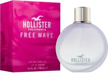 Hollister Free Wave Eau de Parfum voor Vrouwen  100 ml