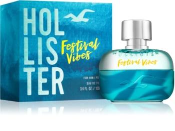 Hollister Festival Vibes eau de toilette pour homme 100 ml