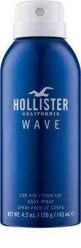 Hollister Wave spray pentru corp pentru barbati 143 ml