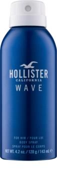 Hollister Wave telový sprej pre mužov 143 ml