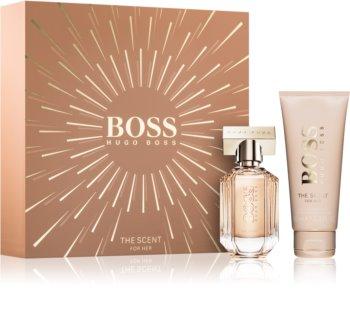 Hugo Boss Boss The Scent darilni set za ženske   darilni set VIII.