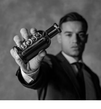 Hugo Boss Boss Bottled United eau de toilette férfiaknak 100 ml limitált kiadás