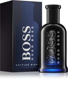 Hugo Boss Boss Bottled Night loción after shave para hombre 100 ml