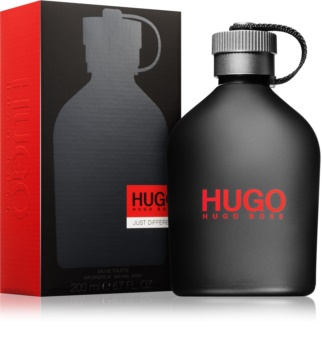 Hugo Boss Hugo Just Different eau de toilette férfiaknak 200 ml